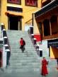 Stairs to the main prayer hall