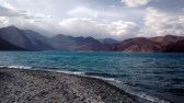 The lake and its many shades of blue - 1