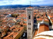 Florence's skyline from the top of the Duomo - 1