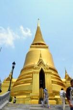 The Golden Stupa, commemorating the Buddha