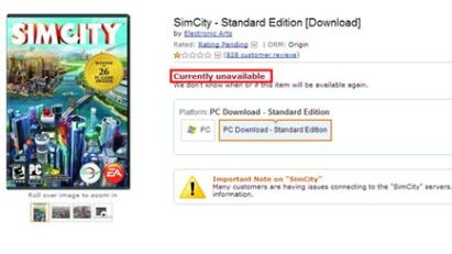 Link: http://www.destructoid.com/amazon-has-pulled-simcity-from-its-store-248072.phtml