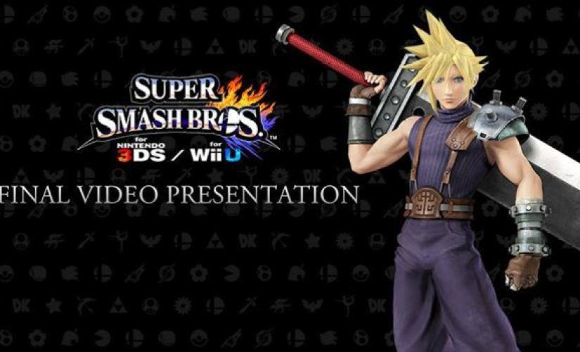Nintendo's Final Super Smash Bros 4 Direct Presentation