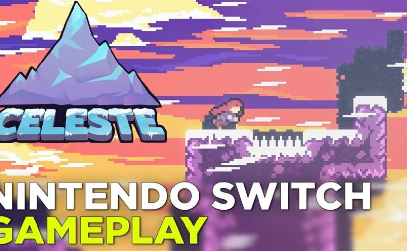 Celeste – Nintendo Switch Gameplay (Hard Mode)