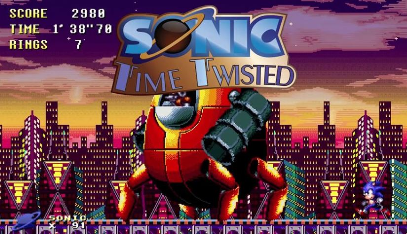 Sonic Time Twisted (Overdrive Games) Released on PC – Fan Production Inspired by Classic Series
