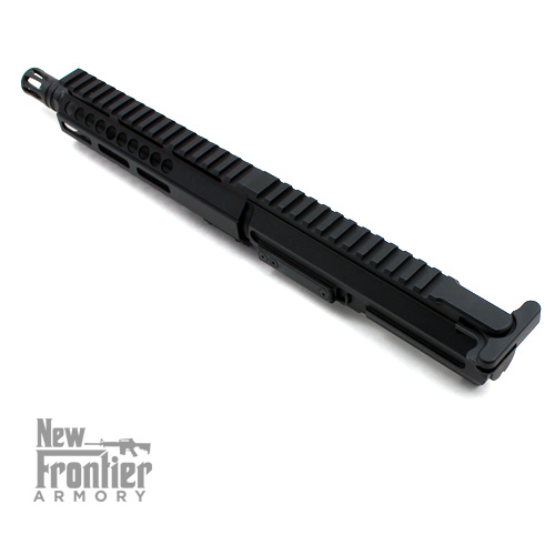 "New Frontier Armory 8″ Pistol Caliber ""Slick Side"" Complete Upper – 9mm -  3W TACTICAL"