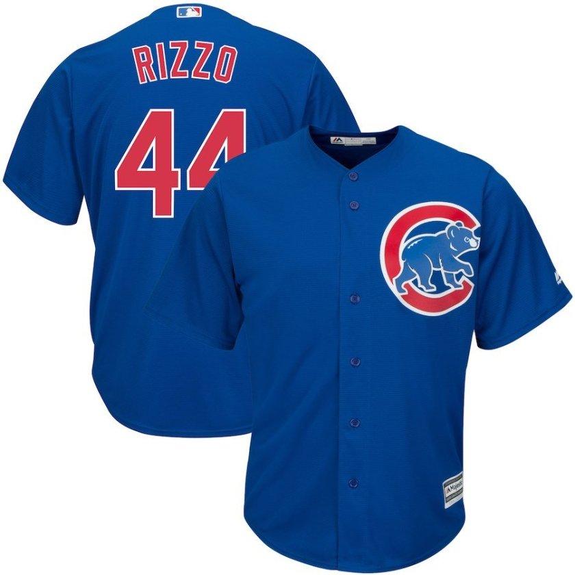 blue anthony rizzo jerseys