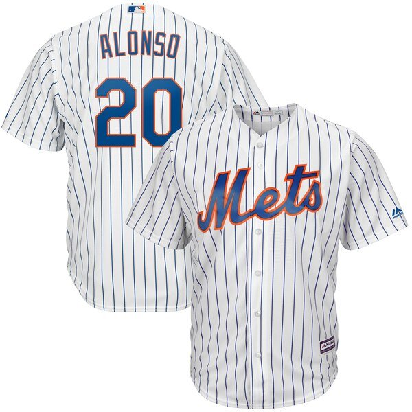 low priced e3901 0b009 Pete Alonso Jersey - Mets 5X 5XL 4XL 3XL XXL XL S-L, White, Blue