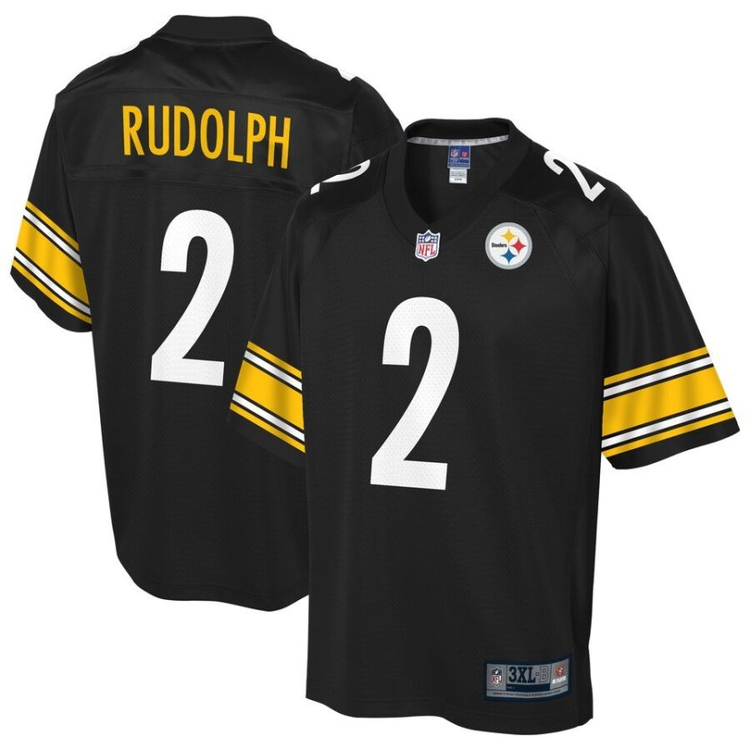 Mason Rudolph Jersey - Pittsburgh Steelers by Pro Line
