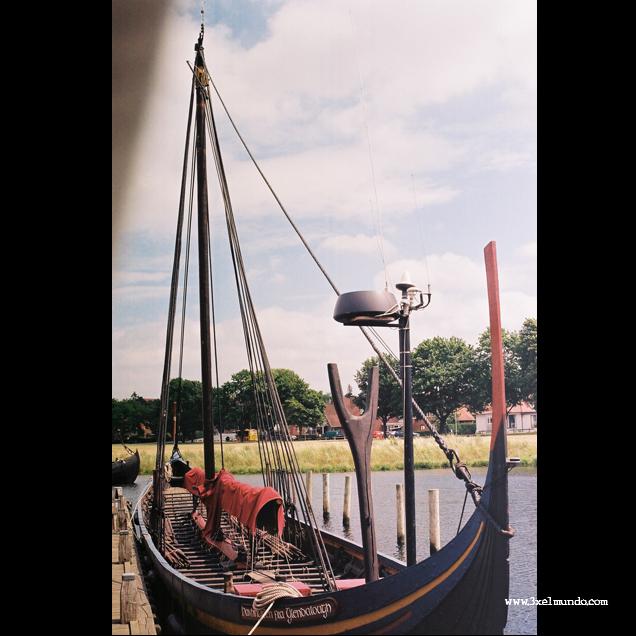 barco vikingo Roskilde