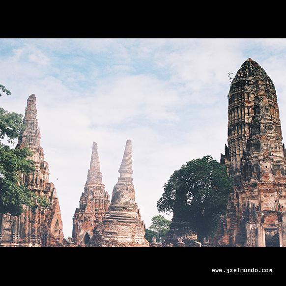 wat phra ram en Ayutthaya
