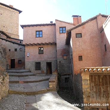 casas típicas de Albarracín