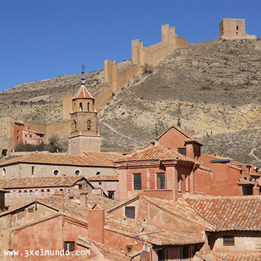 murallas y castillo de Albarracín