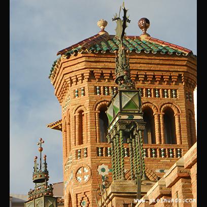 torre de la escalinata de Teruel