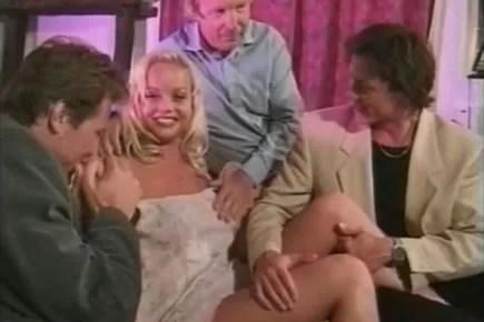 Retro porn - Silvia Saint gangbang