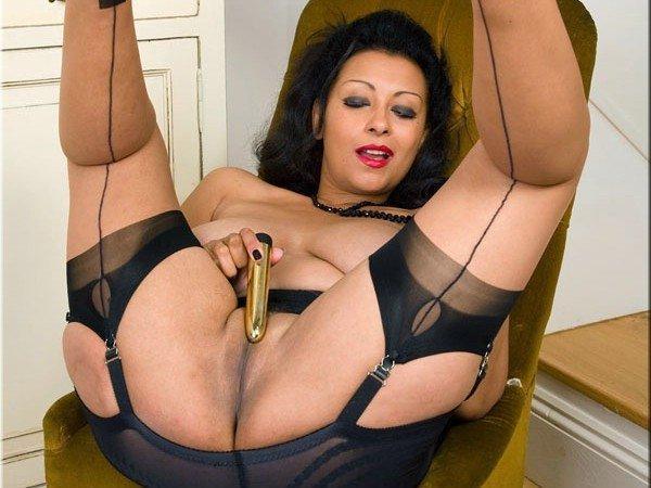 Retro pornó harisnya - Danica