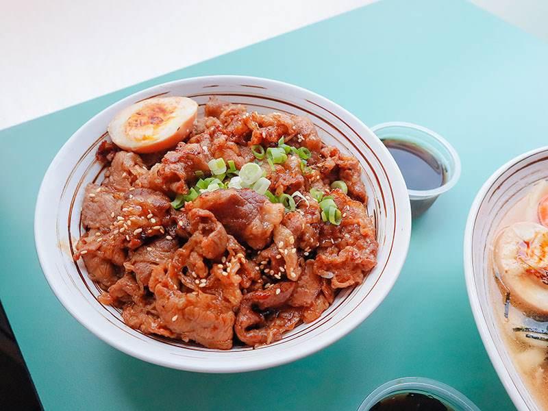 雙饗丼金山店,雙饗丼,新竹丼飯