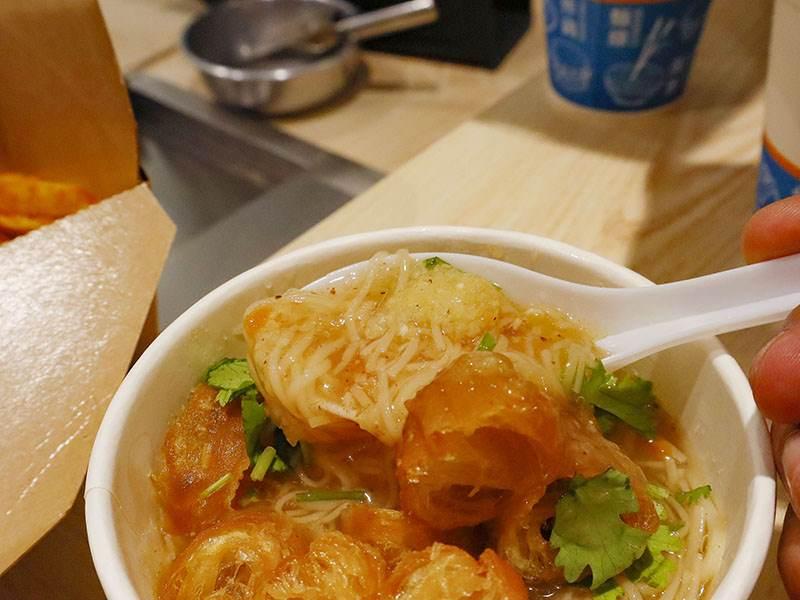 享噹初,新竹巨城,水潤餅