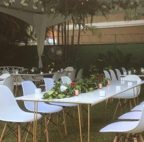 Eames Chair Wedding Event Hire Perched Rentals - Year of