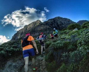 Trail running camps Stellenbosch hiking table mountain