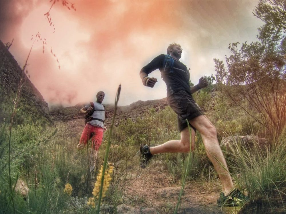 Trail running Stellenbosch, South Africa
