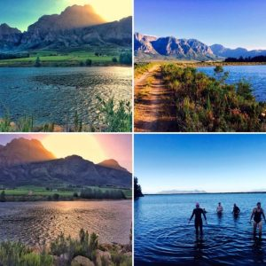 Open water swim Boschendal