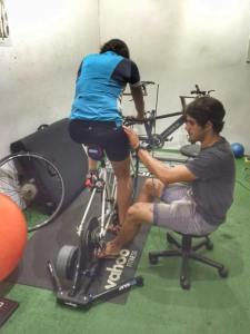 Triathlon training camp Stellenbosch BMT bike fit