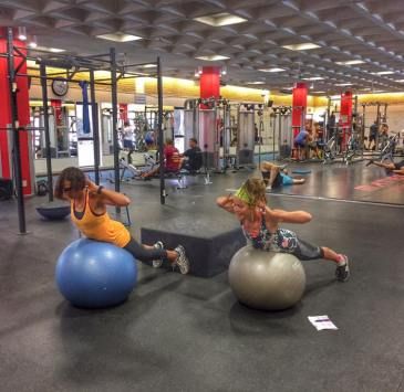 Gym session Maties 2