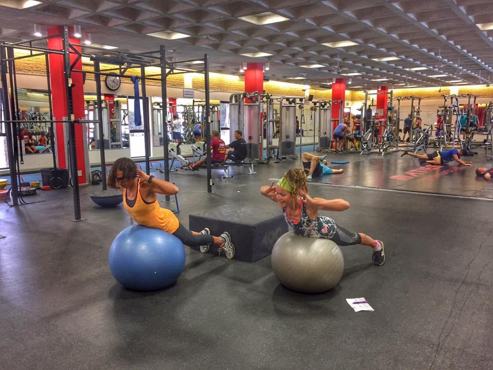 Athletics camp gym Stellenbosch