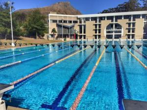 Triathlon training camp Stellenbosch Maties pool