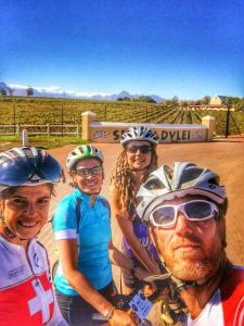 Cycling camp Stellenbosch