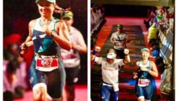 Joanna Wiśniewska finishes Ironman Barcelona