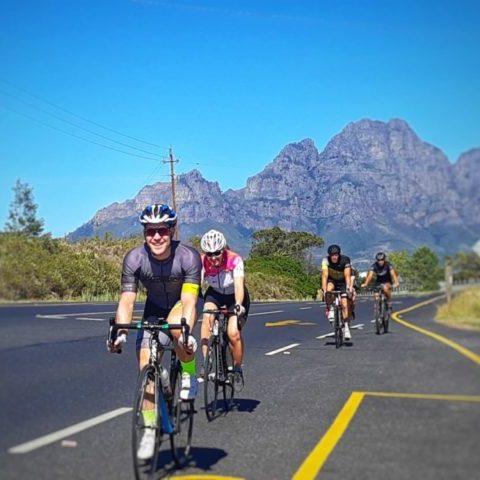 Road cycling Franschhoek