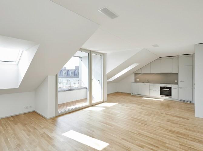 Helle Wohnung und grosse Schiebetür im Himmelrich 3, Luzern