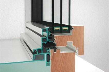Querschnitt vom Neubaufenster NF1 design
