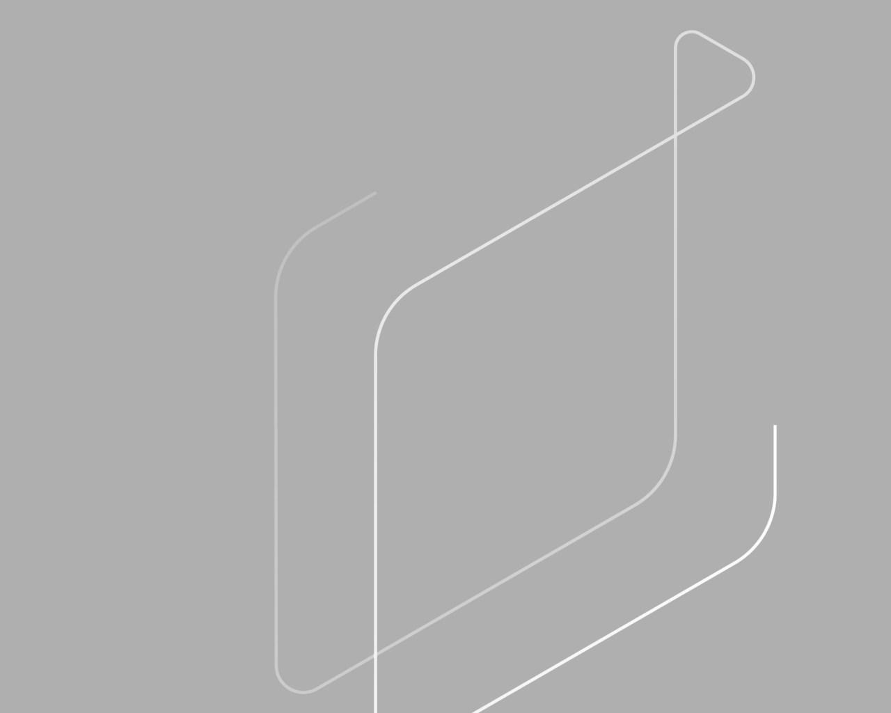 Grauefläche mit Logo Form von 4B
