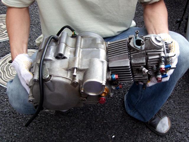 モンキーのエンジン