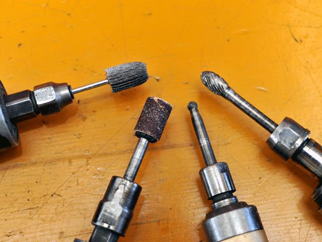 リューターの研磨石