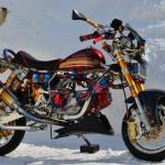 モンキーカスタム ベース車両:モンキー 排気量:124cc 豪華パーツ満載のフルチューン