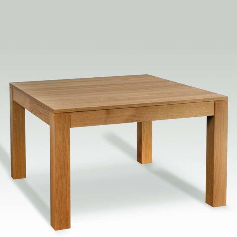 Table En Bois Massif Carrée Extensible  Moderne Mc 4