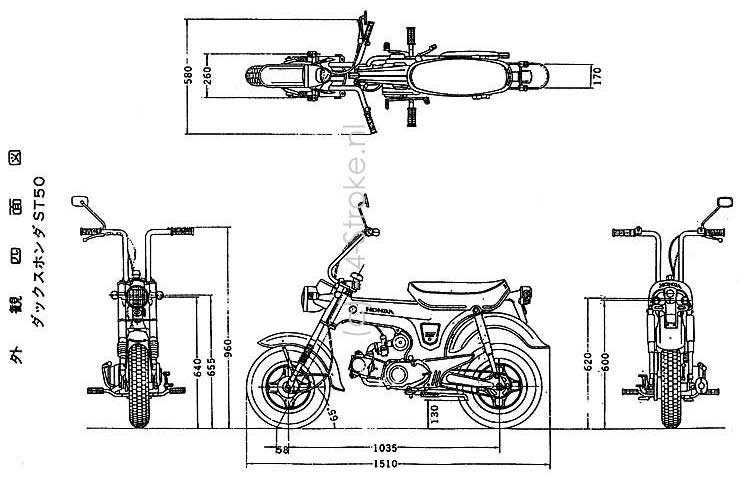 Honda Ct70 Wiring Diagram Further Harness Honda CT90
