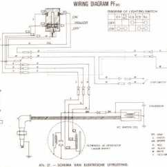 Honda Ss50 Wiring Diagram Harbor Breeze Fan Pf50 Amigo Schematic - 4-stroke.net All The Data For Your Motorcycle Or Moped