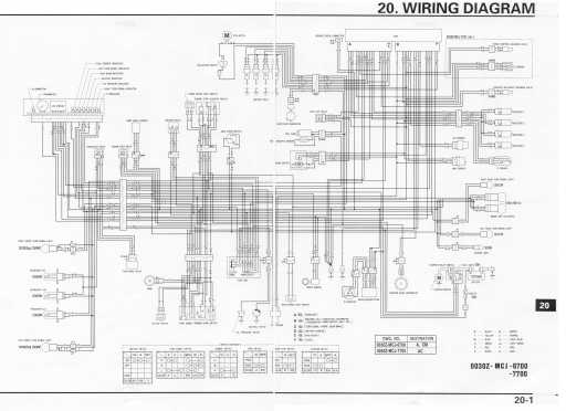 2000 honda 929 wiring diagram