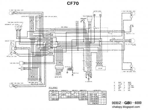 [DIAGRAM] 1980 Honda Cb400t Wiring Diagram FULL Version HD