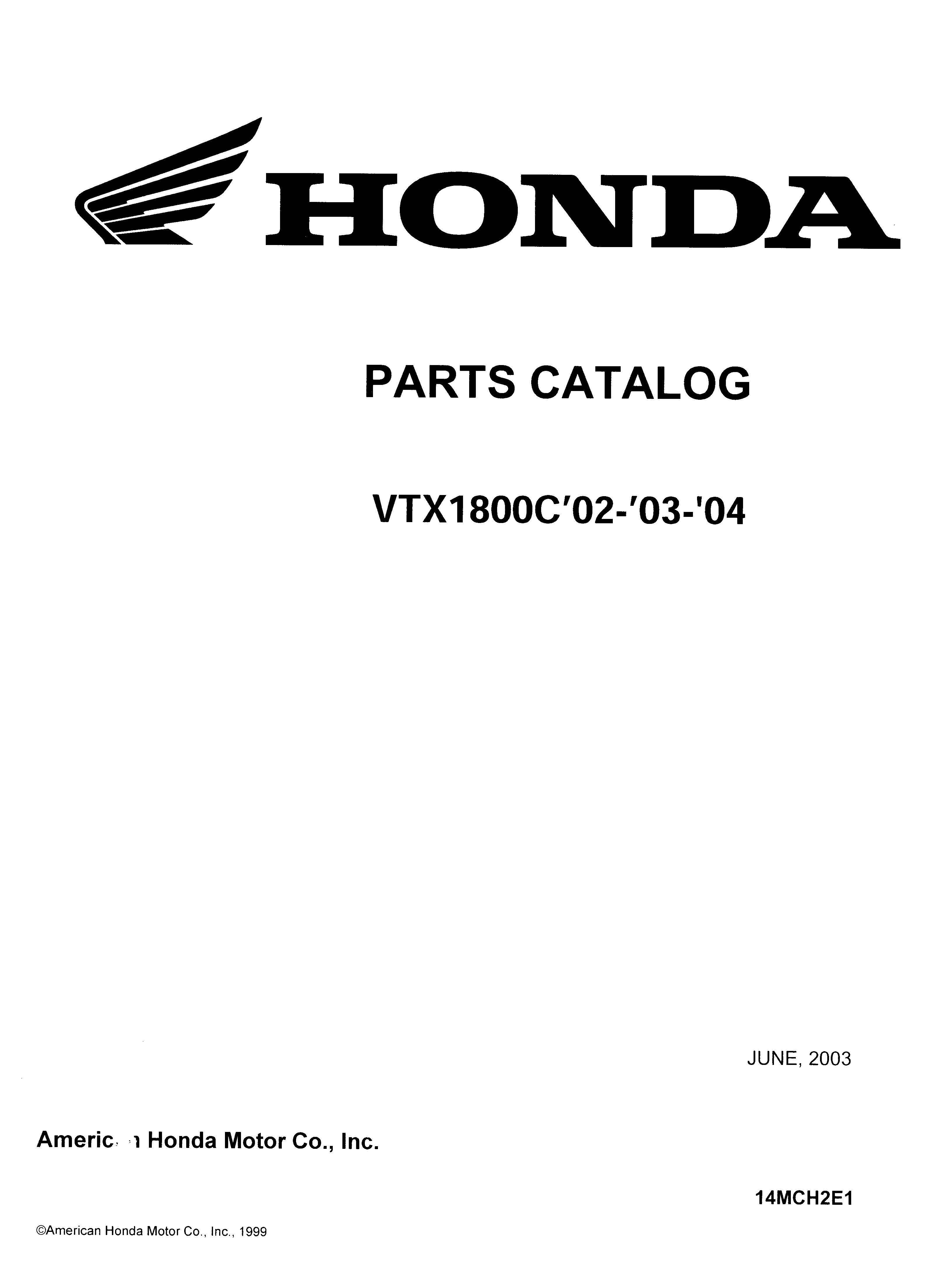 Honda Motorcycle Spare Parts List