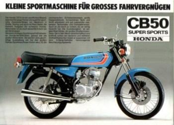 Honda CB50 J