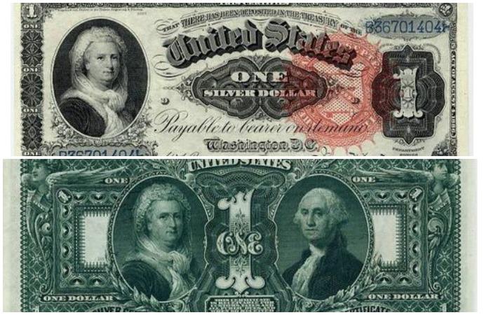 Купюры 1886 и 1896 гг.