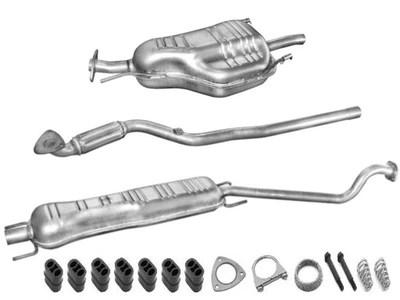 Uklad Wydechowy Opel Astra G 16 16v