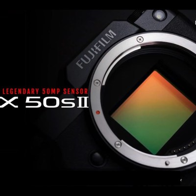 Fujifilm announces GFX 50S II, 35-70mm 4.5-5.6 WR and forthcoming lenses