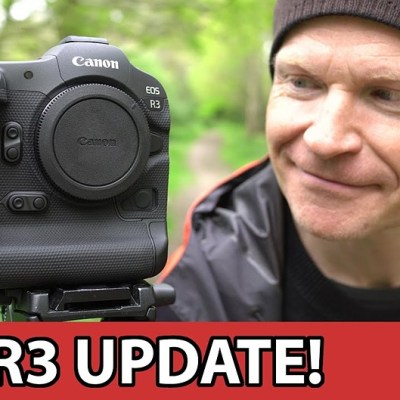 Video: Our closest look yet at Canon's forthcoming EOS R3 mirrorless camera