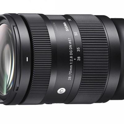 Sigma announces 28-70mm F2.8 DG DN Contemporary for L and E mounts